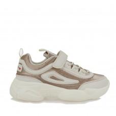 EXE KIDS sneakers MA32R067265S λευκό ροζ χρυσός