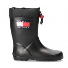 Tommy Hilfiger γαλότσες  T3X6-30766-0047999 RAIN BOOT BLACK