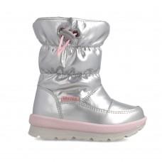 Garvalin μπότες apres ski 211851B ασημί
