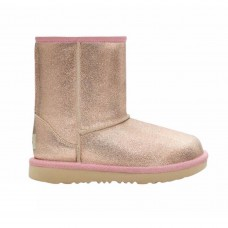 UGG Μπότα 1123663Κ-RGL Classic Glitter Pink